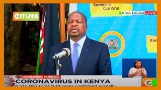 Health CS Mutahi Kagwe full speech on COVID-19 situation in the country