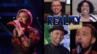 American Idol 2015 Week 13 - Top 9 Kelly Clarkson & The Voice Week 6 - Reality Check