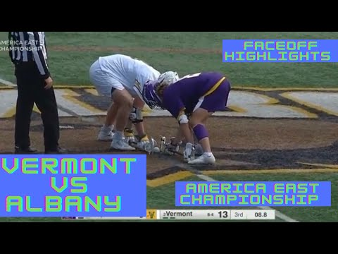 Vermont vs Albany | America East Championship | Faceoff Highlights | Mens Lacrosse | 5/8/21