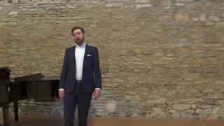 Christian Thurston sings the Tower Scene from Pelléas et Mélisande