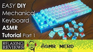 RELAXING REVIEWS | DIY Mechanical Keyboard for $100! | Part 1 (ASMR tutorial & review)