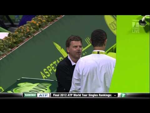 Qatar Open (Doha): David Ferrer creates a hole on court