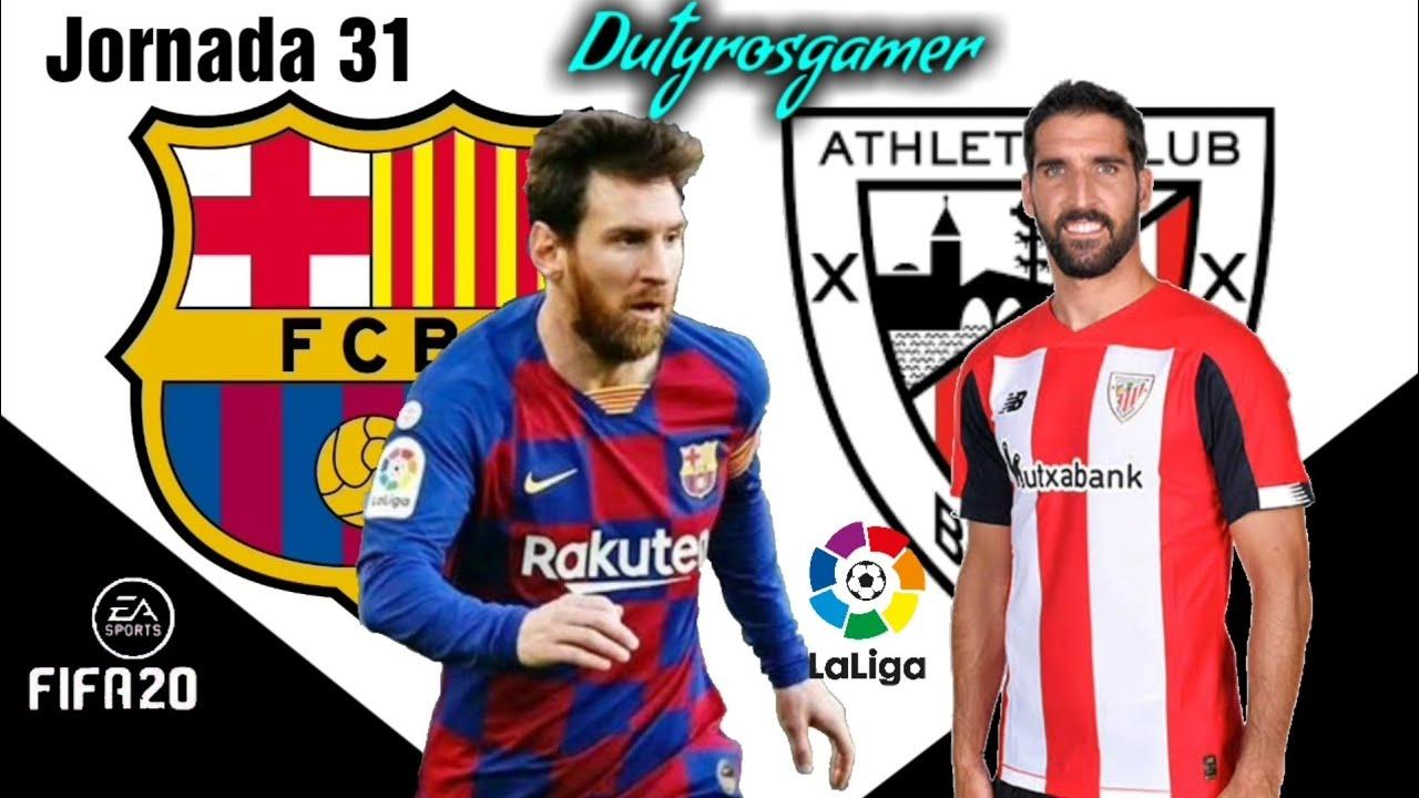 FC BARCELONA vs ATHLETIC DE BILBAO Laliga Santander 23/06 ...