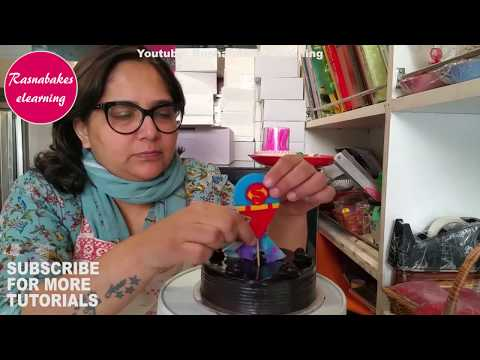superman-cake-topper:cake-decorating-classes-video