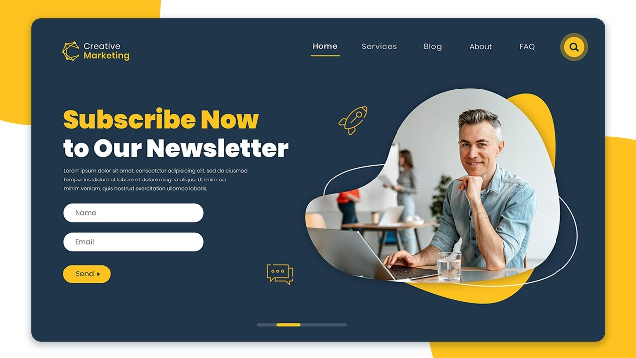 How To Make A Website Using HTML & CSS | Modern Web Design Tutorial