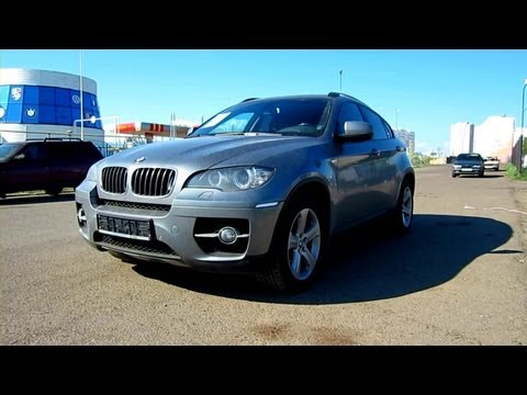 2009 BMW X6. Start Up, Engine, and In Depth Tour.