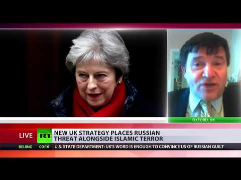 UK govt and media on Skripal case pretty much like 2003 Iraq WMD hoax - Neil Clark