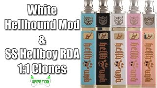 Hellhound Mod & Hellboy RDA (1:1 clones) | VAPEFOG