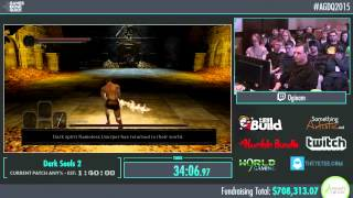 Awesome Games Done Quick 2015 - Part 163 - Dark Souls 2 by Oginam