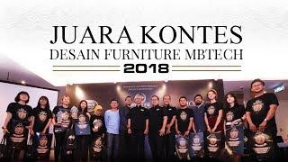 Juara Kontes Desain Furniture MBtech 2018