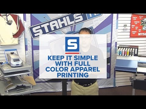 Keep it Simple with Full Color Apparel Printing
