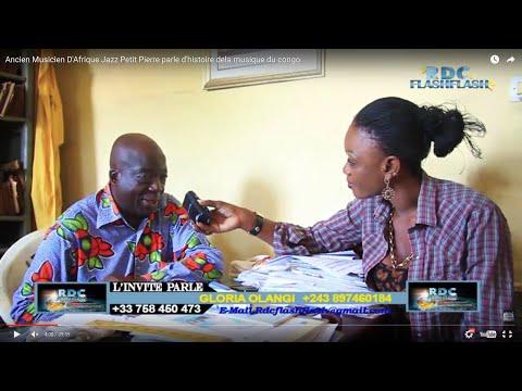 Ancien Musicien D'Afrique Jazz Petit Pierre parle d'histoire dela musique du congo