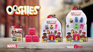 Series 3 Marvel Ooshies TV Commercial