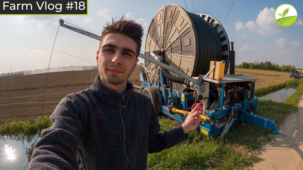 Farm Vlog #18 - PREPARIAMO L'IRRIGATORE PER LA STAGIONE ESTIVA!