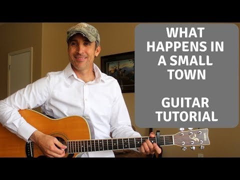 What Happens In A Small Town - Brantley Gilbert | Guitar Tutorial