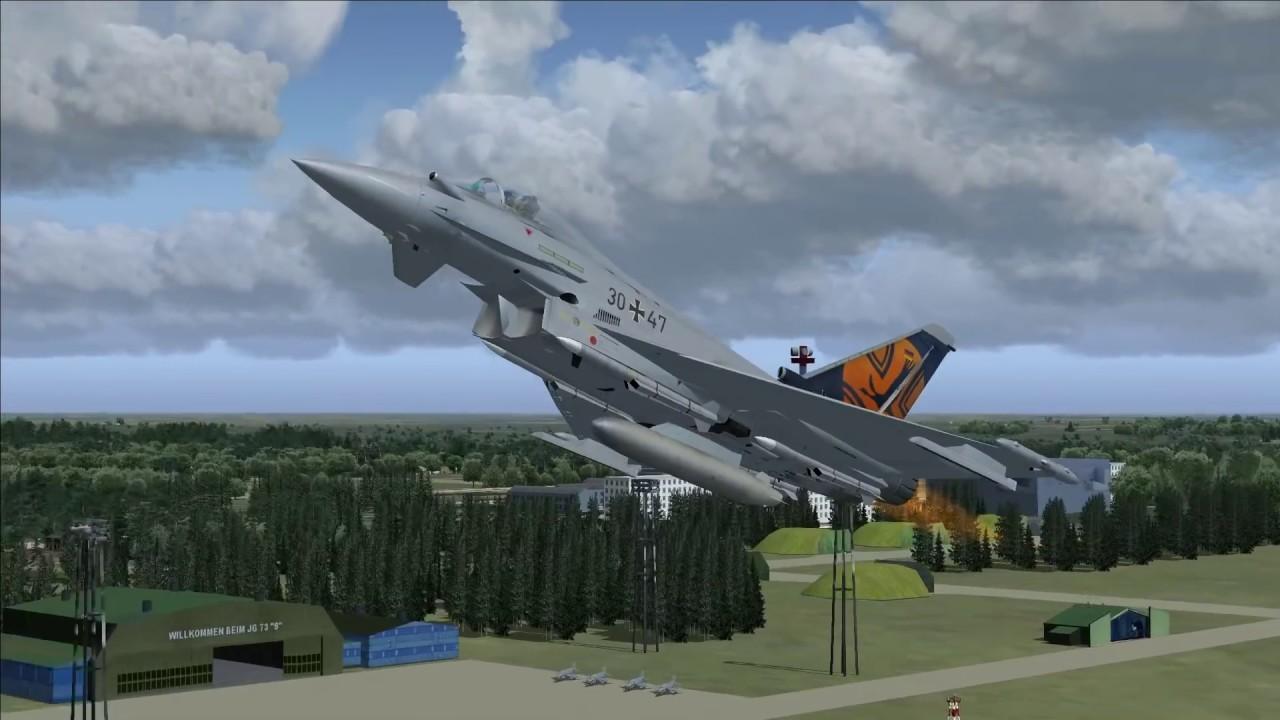 AFS-design de - Eurofighter Typhoon - Professional 5 - FSX - Steam - FS2004