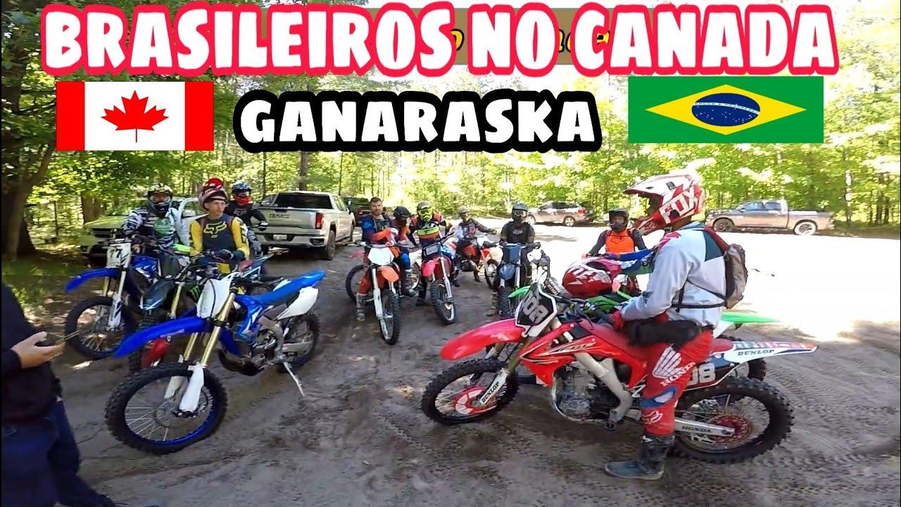 trilheiros brasileiros no Canada / ganaraska trails