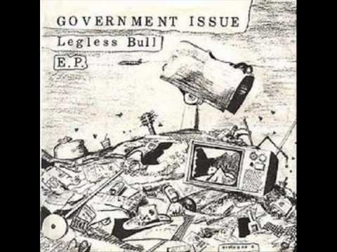 Government Issue- Legless Bull E.P.