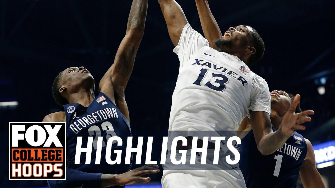 Xavier vs. Georgetown  HIGHLIGHTS