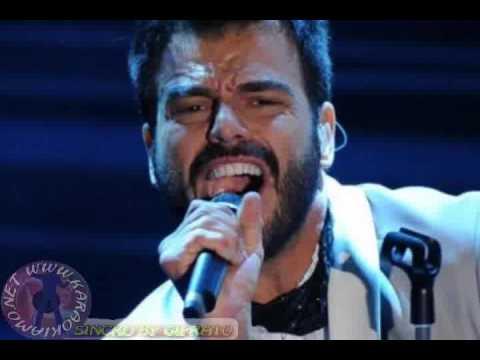 Francesco Renga - L'immensità (karaoke - Fair Use)