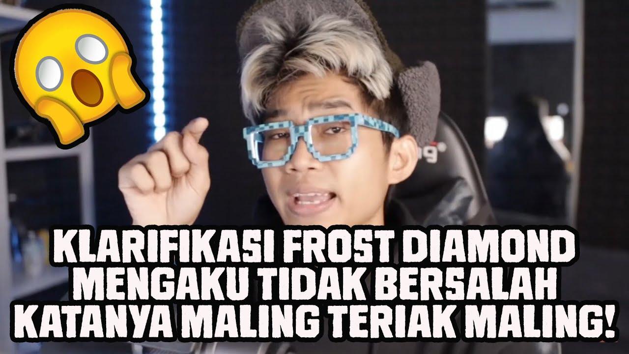 Klarifikasi Frost Diamond Untuk Haters Tentang Plagiat Konten+Thumbnail! Ngambek Nih!