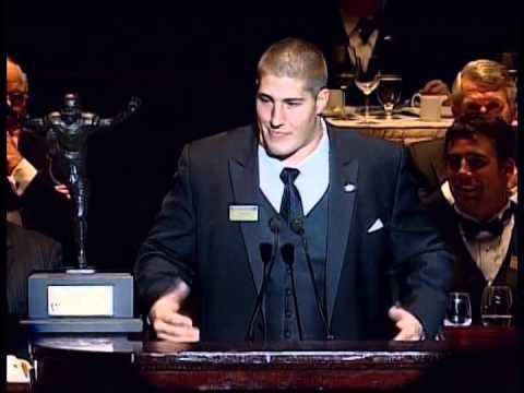 2008 Campbell Trophy Winner Alex Mack (California) - Speech