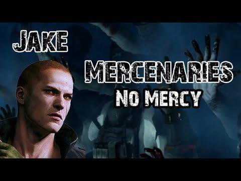 [RE6: Mercenaries No Mercy] Jake The Zombies Swinger!