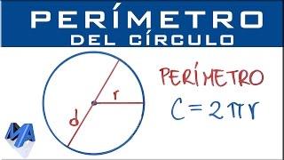 """Perímetro del circulo """"medida de la circunferencia"""""""