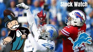 Detroit Lions Stock Watch! Fulgham DOWN?! Detroit Lions Talk