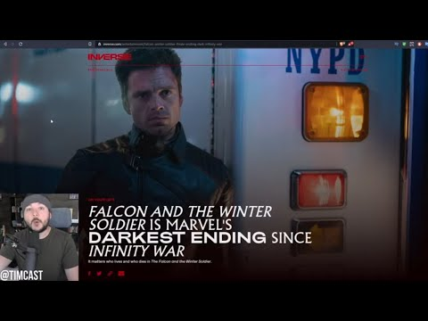 Falcon And Winter Soldier Goes Full ANTI WOKE And The Woke Left Is FURIOUS, Antifa Is The Villain