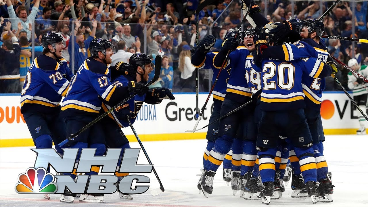 Nhl Stanley Cup Playoffs 2019 Stars Vs Blues Game 7 Highlights