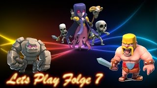 Folge 7 Clash of Clans Let`s Play, Clankrieg und Rathaus Level 4