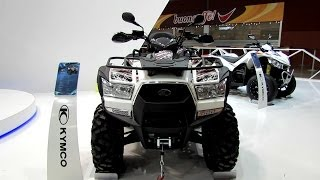 2014 Kymco MXU 700i All Terrain Vehicle Walkaround - 2013 EICMA Milano Motorcycle Exhibition