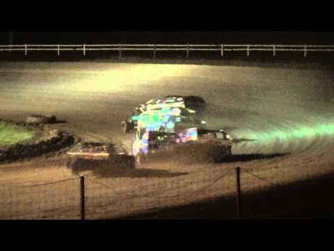 IMCA Modified feature Jackson County Speedway Fall Bash 10/19/14