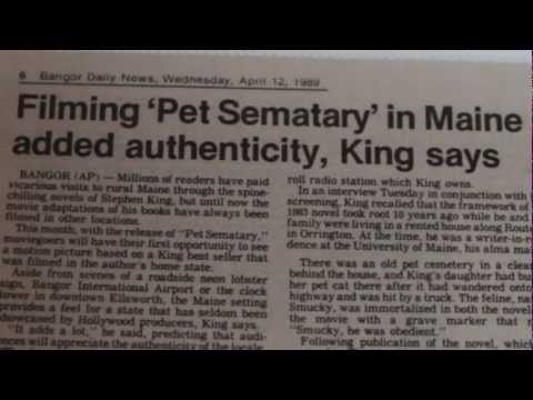New Documentary Chronicles Making of Pet Sematary
