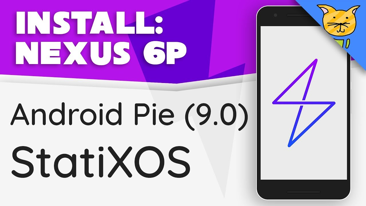 Flash StatiXOS Android Pie ROM for Nexus 6P!