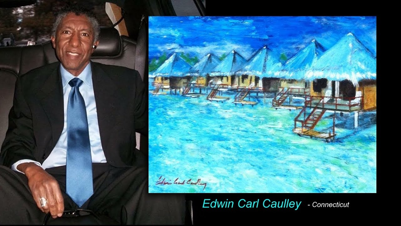 Edwin Carl Caulley / American artist paintings admired for their soft smooth lined brushwork.