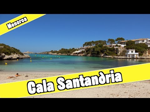 Cala Santandria Menorca Spain: Beach And Resort