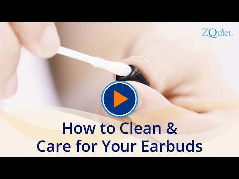 QuietOn Earbuds - How to Clean and Care for Your New Snore Cancelling Earbuds