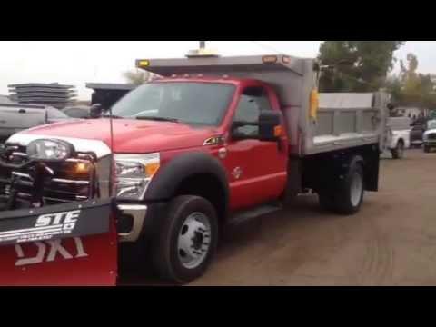 2014 F550 Smith Stainless Steel Dump Body Boss 9 2 Dxt