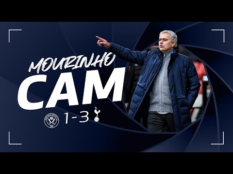 MOURINHO CAM | SHEFFIELD UNITED 1-3 SPURS