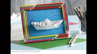 Что можно сделать из карандашей и фломастеров