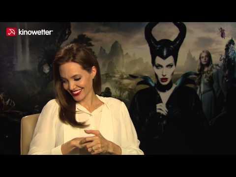 Interview Angelina Jolie MALEFICENT