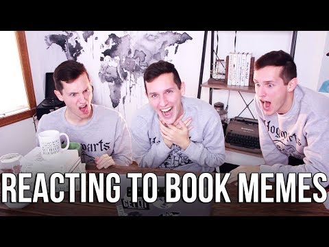 REACTING TO BOOK MEMES