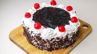 Black Forest Cake | With Eggs / Eggless & Without Oven | Black Forest Cake Recipe | Yummy