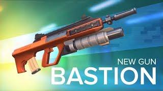 Первый взгляд на БАСТИОН в Guns of Boom!