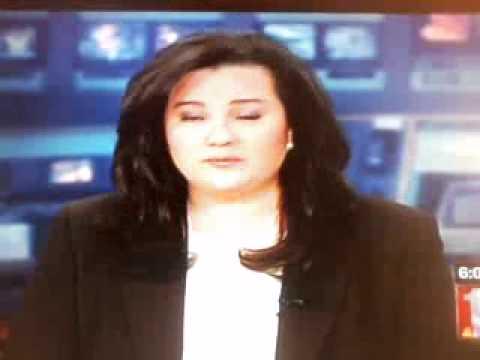 TV Anchorwoman Kumi Tucker Burps live TV WNYT