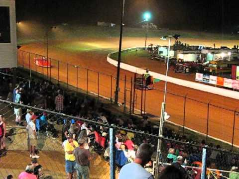 Crate Late Model Q Video1of2 26Jul2013 Cochran Motor Speedway