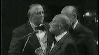 """The Mills Brothers """"Basin street blues"""". Boston Pops Early 80s"""