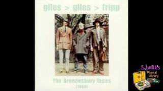 "Giles, Giles & Fripp ""I Talk To The Wind (1)"""